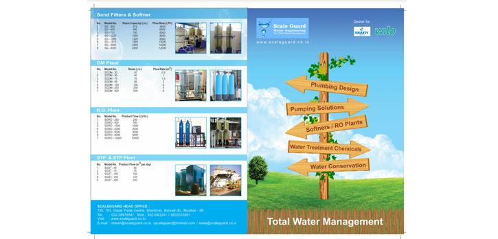 plumbing brochure design brochure design company in mumbai thane pune bangalore chennai